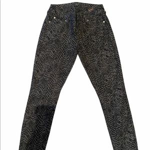 Seven leopard print jeans